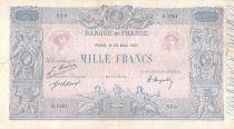France 1000 Francs Rose et Bleu -25-03-1921 - Série S.1551 - TB