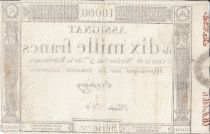 France 10000 Francs 18 Nivose An III - 7.1.1795 - Sign. Bassigny