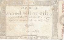 France 10000 Francs 18 Nivose Year III - 7.1.1795 - Sign. D\'Osseville