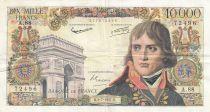 France 10000 Francs Bonaparte - 04-07-1957 Série A.88
