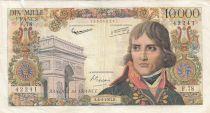 France 10000 Francs Bonaparte - 06-06-1957 Série F.78 - TB +