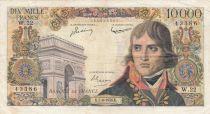 France 10000 Francs Bonaparte - 07-06-1956 Série W.22 - TB +
