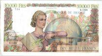 France 10000 Francs Génie Français - 01-03-1951 Série R.1239