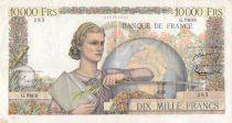 France 10000 Francs Génie Français - 01-09-1955 Série G.9803 - TTB