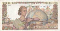 France 10000 Francs Génie Français - 02-02-1956 - Série S.10628 - TTB