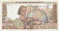 France 10000 Francs Génie Français - 02-04-1953 - Série D.4523
