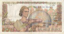 France 10000 Francs Génie Français - 02-04-1953 Série G.4593 - TB+