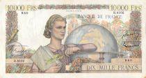 France 10000 Francs Génie Français - 03-03-1955 Série R.8102 - TTB