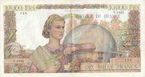 France 10000 Francs Génie Français - 04-05-1951 Série Y.1442-124 - TTB