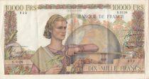 France 10000 Francs Génie Français - 04-06-1953 - Série S.5128 - TTB