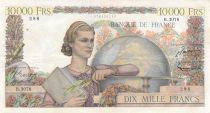 France 10000 Francs Génie Français - 04-09-1952 Série B.3078 - TTB