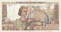 France 10000 Francs Génie Français - 05-02-1953 Série C.4266 - p.TTB