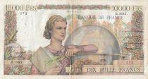 France 10000 Francs Génie Français - 05-02-1953 Série D.3995 - TTB