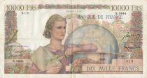 France 10000 Francs Génie Français - 05-02-1953 Série N.3844 - TB+