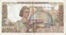 France 10000 Francs Génie Français - 05-02-1953 Série U.4344 - TB+