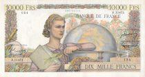 France 10000 Francs Génie Français - 05-04-1956 Série F.11471 - TTB+