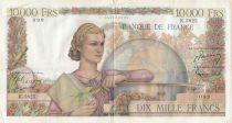 France 10000 Francs Génie Français - 05-11-1953 Série K.5825 - TTB