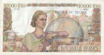 France 10000 Francs Génie Français - 05-11-1953 Série L.5825 - TTB
