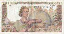 France 10000 Francs Génie Français - 05-11-1953 Série P.5899 - TTB