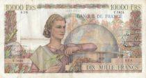 France 10000 Francs Génie Français - 05-11-1953 Série T.5824 - TTB