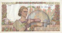 France 10000 Francs Génie Français - 05-11-1953 Série Y.5784 - TTB