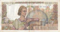 France 10000 Francs Génie Français - 06-08-1953 Série G.5278 - TTB