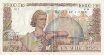 France 10000 Francs Génie Français - 06-12-1951 Série L.2153 - TB+