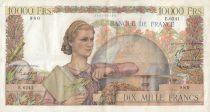 France 10000 Francs Génie Français - 07-01-1954 Série E.6241 - TTB
