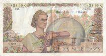 France 10000 Francs Génie Français - 07-01-1954 Série S.6299 - TTB