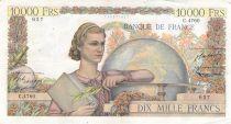 France 10000 Francs Génie Français - 07-05-1953 Série C.4760 - TTB