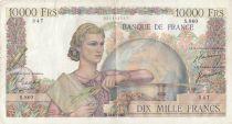 France 10000 Francs Génie Français - 18-08-1950 Série S.860 - TB