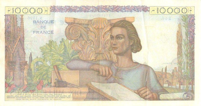 France 10000 Francs Génie Français - 1951 - N1196