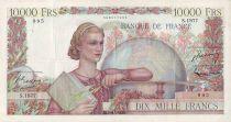 France 10000 Francs Génie Français - 1951 - S1977