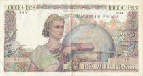 France 10000 Francs Génie Français - 21-02-1946 Série S.44-106 - p.TB