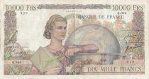 France 10000 Francs Génie Français - 23-11-1950 Série Q.986 - P.TB
