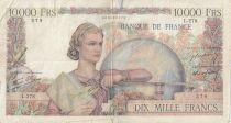 France 10000 Francs Génie Français - 24-10-1946 Série L.278 - B