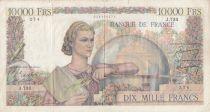 France 10000 Francs Génie Français -16-02-1950 Série J.733 - TB
