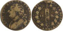 France 12 Deniers - Louis XVI - Roi des François - 1792 I Limoges