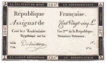 France 125 Livres - 7 Vendémiaire An II - 1793 - Sign. Dubuisson - TTB