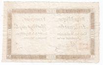 France 125 Livres - 7 Vendémiaire An II - 1793 - Sign. Fontenelle - TTB+