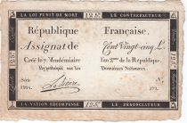 France 125 Livres - 7 Vendémiaire An II - 1793 - Sign. Lariviere - TTB