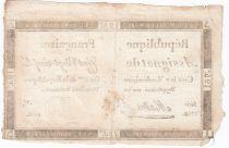France 125 Livres - 7 Vendémiaire An II - 1793 - Sign. Masson- TB+