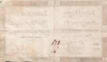 France 125 Livres - 7 Vendémiaire An II - 1793 - Sign. Valliere