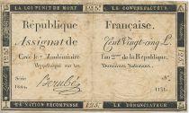 France 125 Livres 7 Vendemiaire An II (28.9.1793)