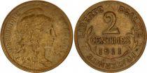 France 2 Centimes Dupuis - 1911