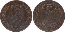 France 2 Centimes Napoleon III - 1861 K Bordeaux