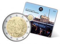 France 2 Euro Mur de Berlin  Frappe BU 2019