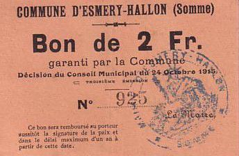 France 2 F Esmery-Hallon n° 925