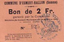 France 2 F Esmery-Hallon n° 925