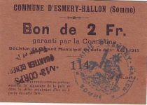 France 2 F Esmery-Hallon
